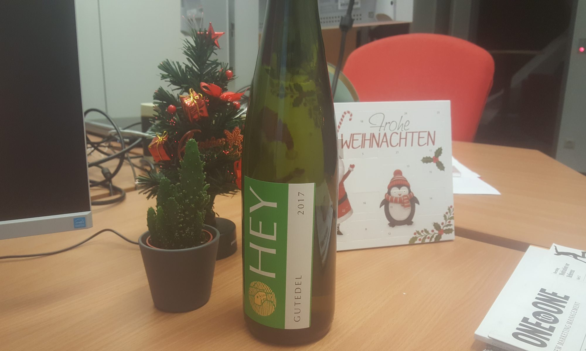 Gutedel 2017 Trocken - Weingut Hey (Saale-Unstrut)